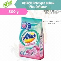 ATTACK Plus Softener 800g Deterjen Konsentrat Anti Bakteri&Bau 800 gr