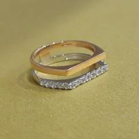 Cincin emas italy model 750 DS 276