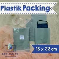 PLASTIK HD TANPA PLONG 15X22 CM / PLASTIK PACKING ONLINE