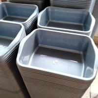Baskom Plastik / Baskom Kotak / Bak Segi Silver Komet Star 301