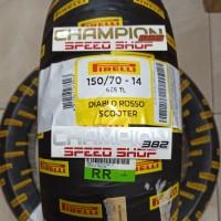 Ban Pirelli Diablo Rosso Scooter Belakang Yamaha Aerox 155 150/70 - 14