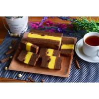 Kue lapis surabaya spiku livana rasa cokelat kismis