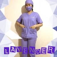 Baju Dokter OKA / Seragam Medis / Perawat Jaga lengan pendek