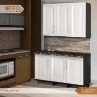 OFFO LIVING FURNITURE - Kitchen Set Cabinet Mutiara knockdown kayu ola