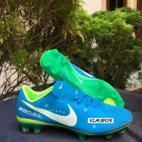 Sepatu Bola Nike Mercurial Vapor XI Blue Orbit Neymar FG
