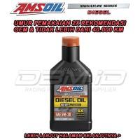 Promo Oli Amsoil Signature Series Diesel SAE 5W-30 5w30 USA oil