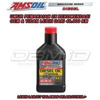 Promo Oli Amsoil Signature Series Diesel SAE 5W-40 5w40 USA oil