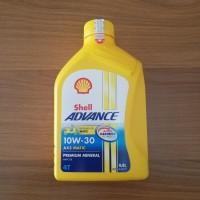 Oli Shell Advance AX5 Matic 10W-30 0.8L