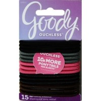 Goody ouchless 10911 braided elastics cherry blossom 15ct