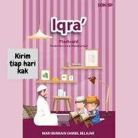 Mainan Edukasi Anak Perempuan 2 Tahun Flash Card Belajar Baca Iqro