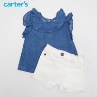 Setelan Baju Anak dan Baby Carters Jeans Variasi 2 - 0-3M