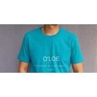 Kaos Polos Pria Wanita Hijau Tosca Unisex 100% Cotton Combed 30 S