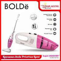 Vacuum Cleaner SUPER HOOVER TURBO BOLDe 2 In 1 100% ORI