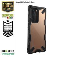 Ringke Huawei P40 Pro Fusion X Softcase Anti Crack Drop Military - Black