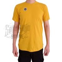 Kaos Polos Pendek Katun Combed 30s Warna Hitam Putih Merah Biru Kuning