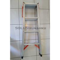 SANKIN Tangga Alumunium 120 CM / Tangga Lipat Serbaguna 1.2 mtr