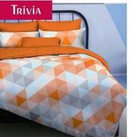 sprei katun star/esra/elbhe dll, trivia orange uk bed 100
