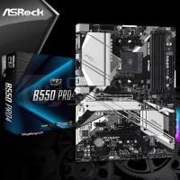 ASRock B550 PRO4 (AMD AM4, B550, DDR4) Motherboard AMD