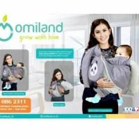OMILAND GENDONGAN SAMPNG SLING BAYI + TOPI PANDA OBG 2311