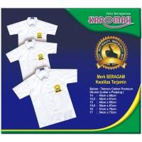 Baju Seragam SMP Lengan Pendek (Rp42.000-Rp58.000)