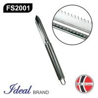 IDEAL FS2001 - Pembersih Sisik Ikan / Fish Scaler Stainless