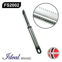 IDEAL FS2002 - Pembersih Sisik Ikan / Fish Scaler Stainless