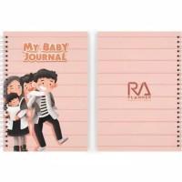 My Baby Journal   COVER D - Stock Ready   Jurnal Kehamilan Anak Muslim