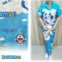 Piyama CP Motif Doraemon Awan Baling