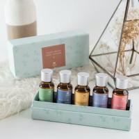 UCHII REFILL AROMA Therapy GIFT SET BOX 5's | Paket Isi Ulang Diffuser