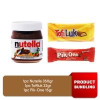 Selai Nutella 350gr Coklat Gandour Tofiluk dan Pik One