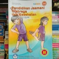 buku pendidikan jasmani olahraga dan kesehatan untuk SD/Mi kelas 2 Bse
