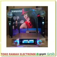 SHURE AW 2200 Microphone Wireless Digital System Suara Menjadi Merdu