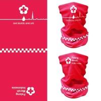 CK Bandana 2003001 Masker Multifungsi PMI Palang Merah Indonesia