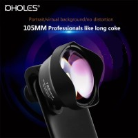 Lensa Tele Pholes 105MM 4K portrait zoom HP Smartphone telephoto SLR