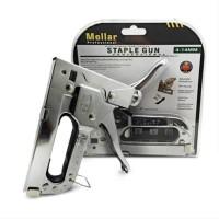 MOLLAR Staple Gun 3 in 1 Way Heavy Duty Staples Murah
