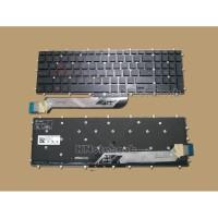 Keyboard Dell Inspiron 15 Gaming 7566 7567 7577 Backlight RED