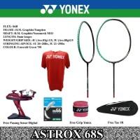 YONEX ASTROX 68S KEVIN 68D GIDEON RAKET BADMINTON ORIGINAL