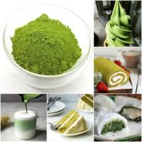 PREMIUM PURE MATCHA 50 GR GREEN TEA POWDER / BUBUK GREEN TEA MURNI