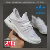 Sepatu Wanita Adidas Putih Olahraga Senam Aerobik Cewek - Sepatu Kado
