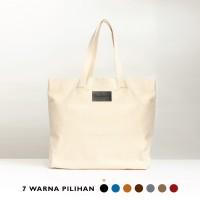 Stefan - Ultimo Shopping Bag Canvas / Tas Belanja Kanvas - Brown