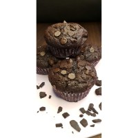 Double Chocolate Chip Muffins - Premium