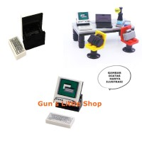 Brick - Accessories Computer Komputer PC Desktop lego loose