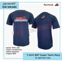 T Shirt BRT Superteam Merchandise resmi BRT - Navy