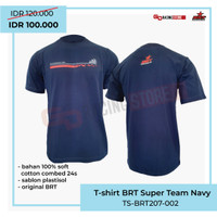 T Shirt BRT Superteam Merchandise resmi BRT - Navy 002