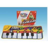 Funny animal piano playmat / musical keyboard playmat