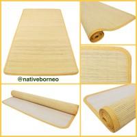 60 x 200 Tikar Rotan Saburina, Lampit Saburina, Karpet Rotan Borneo