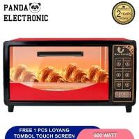 Microwave Han River Oven Listrik 12L Pemanggang kue - Merah, harcoo