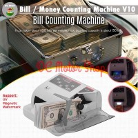 Mesin Penghitung/Hitung Uang Money Counter V10 Machine Bill Detector