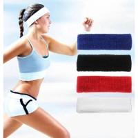 Bandana Olahraga Sport Handuk Tipis Unisex Yoga Gym Sweatband Headband