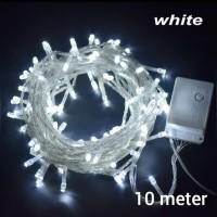 lampu tumbrl /lampu natal/lampu hias dekorasi white